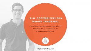 Alo copywriter con Daniel Throssell