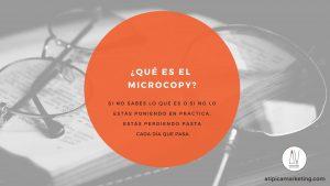 que es microcopy