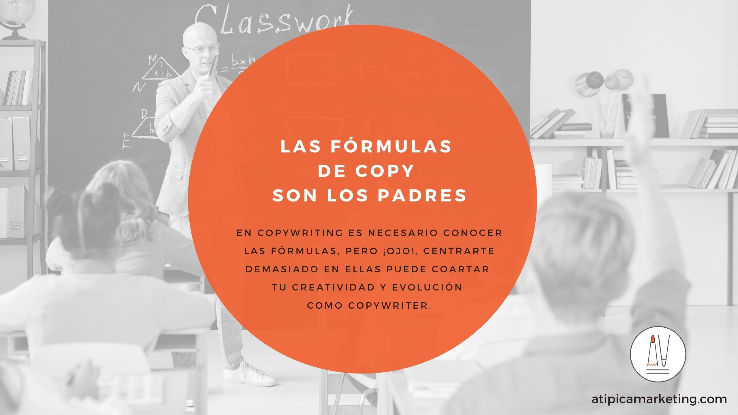 Las fórmulas en copywriting son los padres