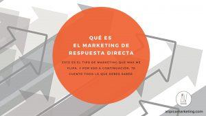 Marketing Respuesta Directa