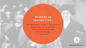 Mujeres en Copywriting I