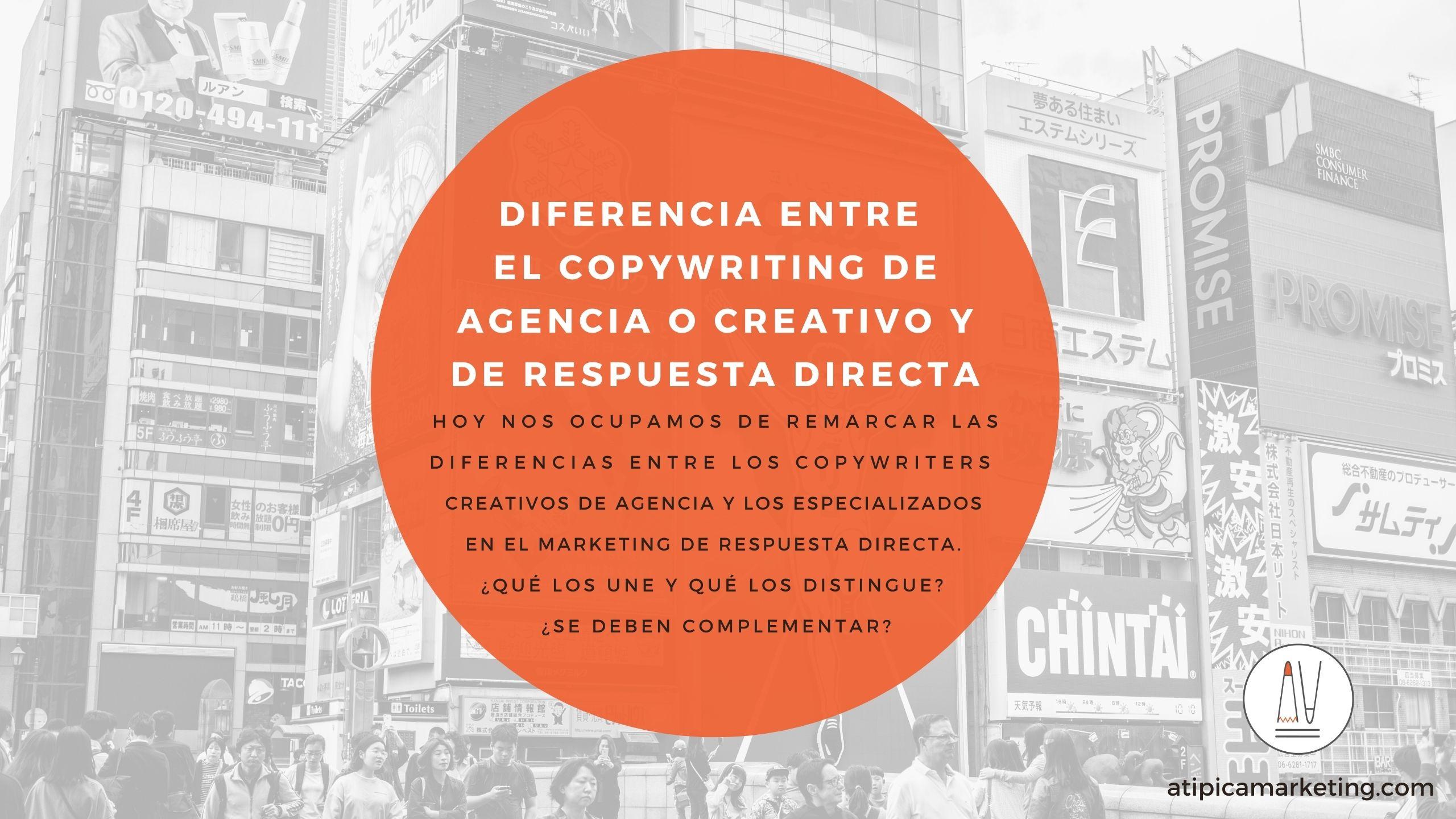 Copy creativo vs copy respuesta directa