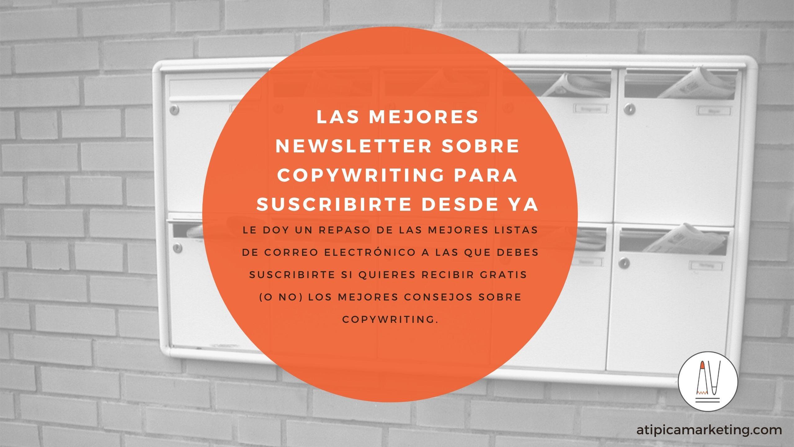 Las mejores newsletters de copy