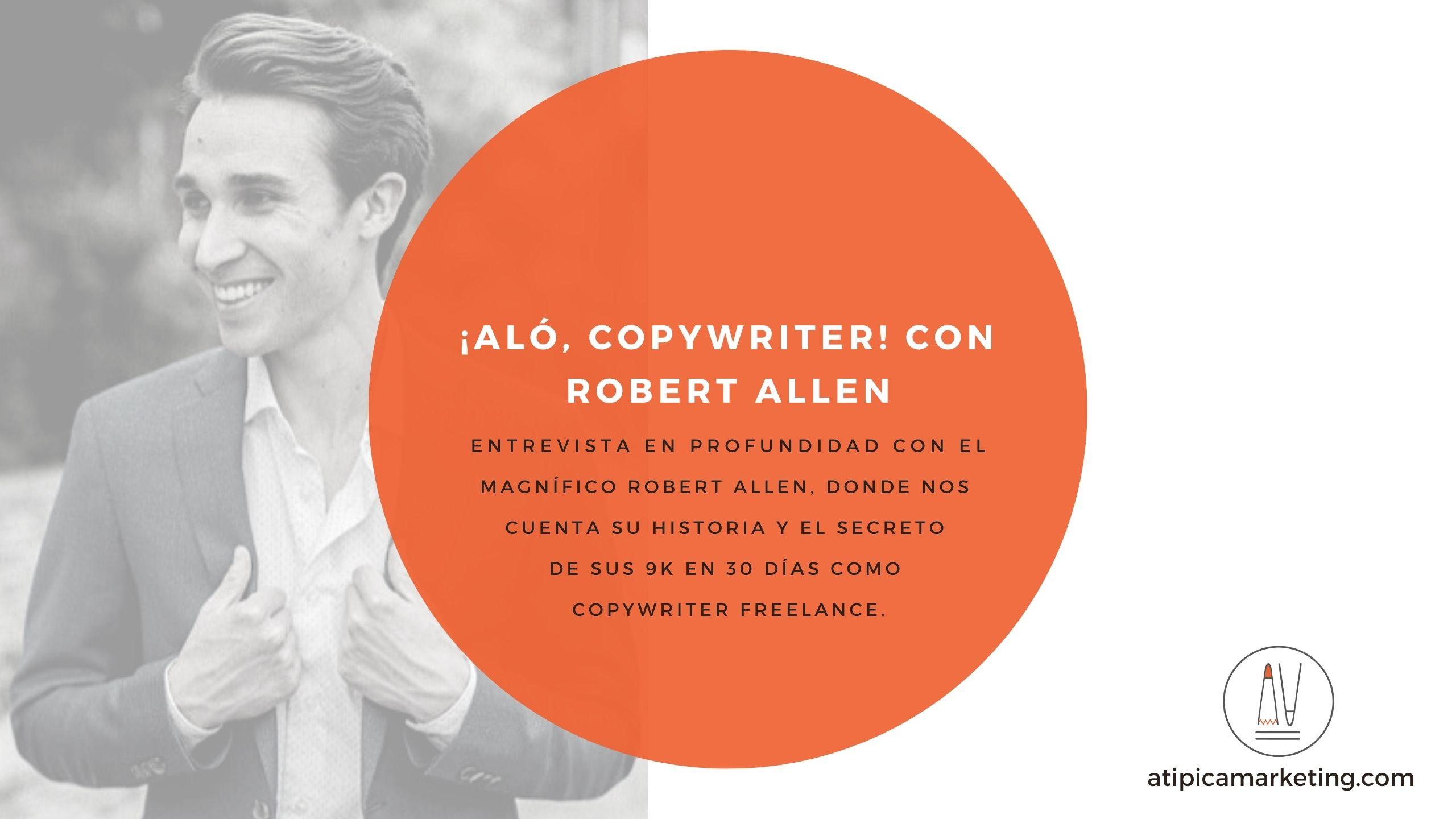 Alo Copywriter Robert Allen