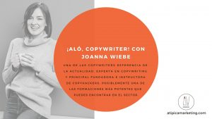 Aló, copywriter con Joanna Wiebe