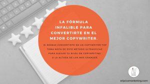 La fórmula infalible para convertirte en el mejor copywriter